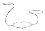 PME - Swan Shaped Chrome Plated Cake Stand