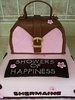 Purse Bridal Shower Cake by Just Cakes Barrie
