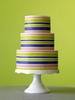 Striped Cake by Baking Arts