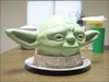 Yoda Head Cake by Tami Chitwood
