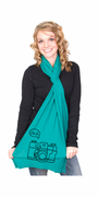 Click Camera American Apparel Scarf