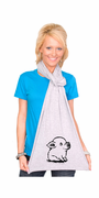 Cute Piggy American Apparel Scarf