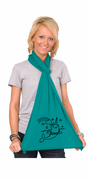 Girlie Narwhal American Apparel Scarf
