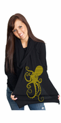 Golden Octopus American Apparel Scarf