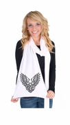 Heart Locket American Apparel Scarf
