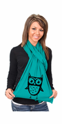 Just Another Owl American Apparel Scarf