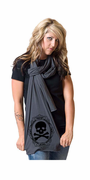 Lovely Crossbones American Apparel Scarf