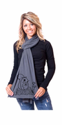 Lovely Squirrel American Apparel Scarf