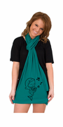 Musical Mermaid American Apparel Scarf