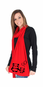 Panda Love American Apparel Scarf