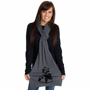 Panda Throw American Apparel Scarf