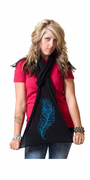 Peacock Feather American Apparel Scarf