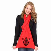 Pretty Anchor American Apparel Scarf