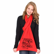 Pretty Skull American Apparel Scarf