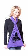 Raven American Apparel Scarf