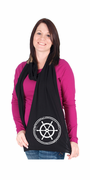 Ship Wheel American Apparel Scarf
