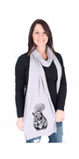 Squirrel American Apparel Scarf