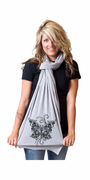 Steam Butterfly American Apparel Scarf