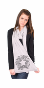 Swirly Star American Apparel Scarf