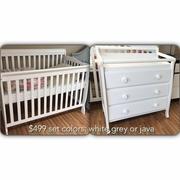 Carson set white java or grey limited