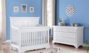 Beaumont crib and change table- White or Java-
