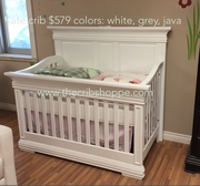 Kate crib new 2015 java white or grey