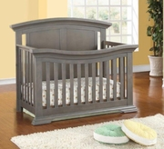 Madison crib dark grey