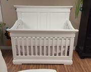 NEW kate crib white java or grey