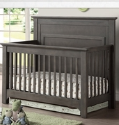 Tristan crib dark grey or java -NEW