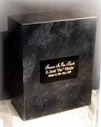Genuine Marble Large Niche Cremation Urn SALE $219