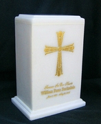 Engraved Cross Marble $495