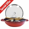 "Perfect Pan 12"", 4.5Qt, Cherry"