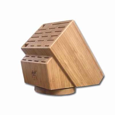 26 Slot Bamboo Swivel Block