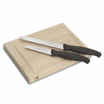 J.A. HENCKELS INTERNATIONAL 3-pc Bar Knife & Board Set