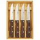 Steakhouse Steak Knife 4Pc  Set with Wood Box