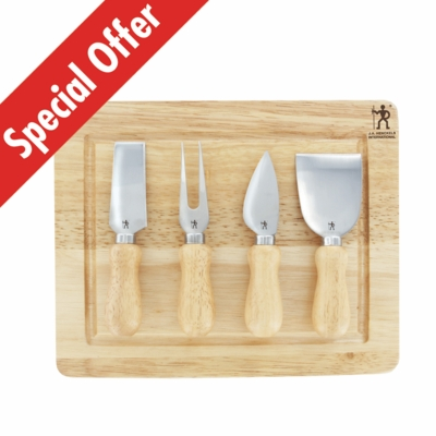 5 Pc Cheese Set