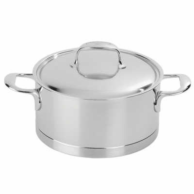 Demeyere Atlantis 4.2-qt Stainless Steel Dutch Oven