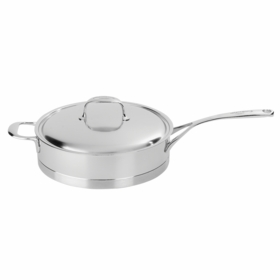 Atlantis LOW SAUTEPAN with LID 4.2QT / 11""