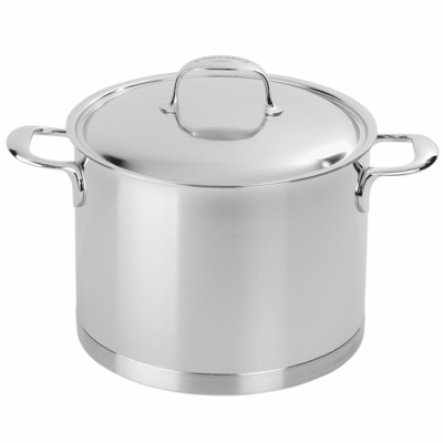Demeyere Atlantis 5.3-qt Stainless Steel Stock Pot