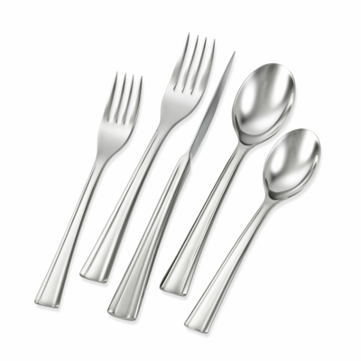 ZWILLING J.A. HENCKELS Flatware Autobahn 42-pc 18/10 Stainless Steel Flatware Set