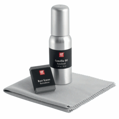 Bob Kramer by ZWILLING J.A Henckels Carbon Steel Use & Care Kit