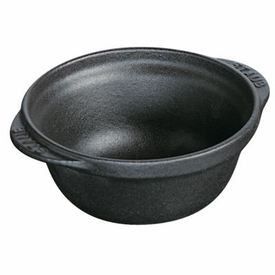 Staub Cast Iron 8-oz Mini Bowl - Matte Black