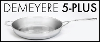 Demeyere 5-Plus Stainless Steel Cookware