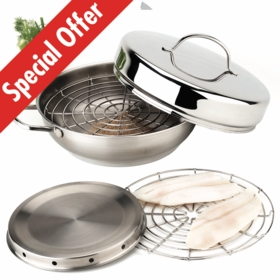 Resto 4-pc. Stovetop Smoker Set