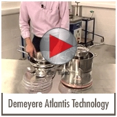 Demeyere Atlantis - Technology Adapted to the Cooking Process