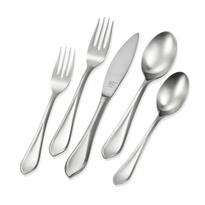 ZWILLING J.A. HENCKELS Flatware Fiora 42-pc 18/10 Stainless Steel Flatware Set
