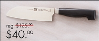 "Four Star 6"" Santoku Knife"