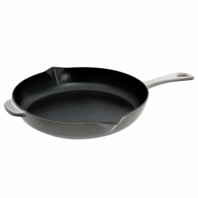 "Staub Cast Iron 10"" Fry Pan - Graphite Grey"
