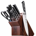 J.A. Henckels International Couteau 10-pc. Knife Block Set