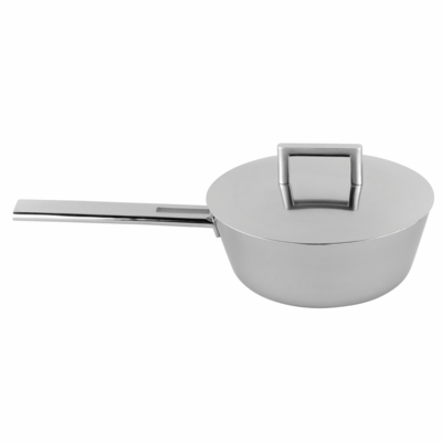 John Pawson CONIC SAUT� PAN WITH LID 2.1QT